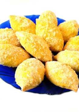 Печенье лимончики. Рецепт лимонного песочного печенья