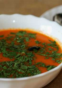 Томатный суп-пюре - простой и вкусный рецепт