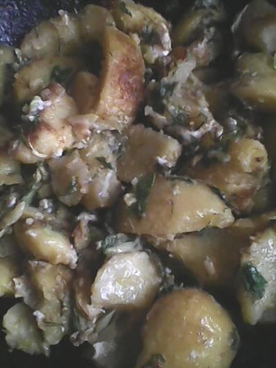 Картошечка в сковородочке