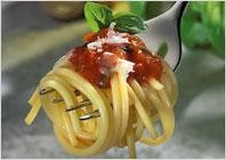 Спагетти по-мароккански