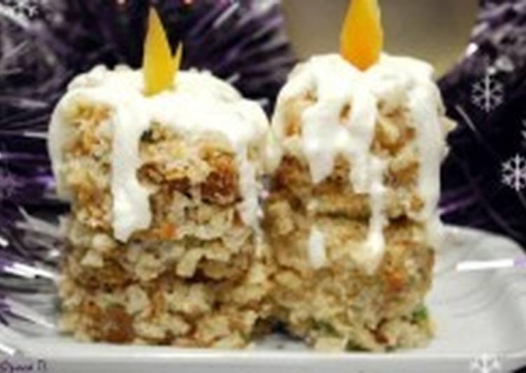 Канапе сырное «Новогодние свечи»