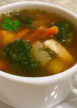 Суп диетический с брокколи