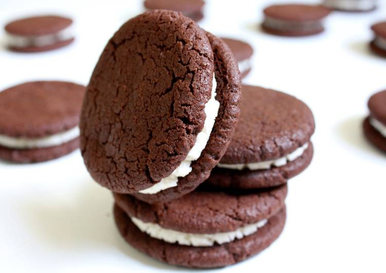 Шоколадное печенье Орео