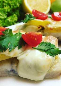 Рыба по-французски (диетическое блюдо)