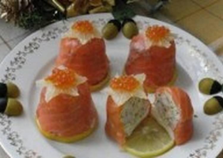 Новогодняя закуска «Поцелуй моря»