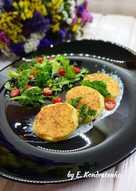 🥞 Картофельно-кабачковые оладьи со сметанно-чесночным соусом 🥞
