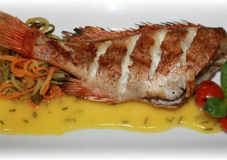 Морской окунь рецепты приготовления