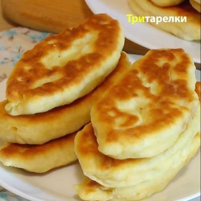 Пирожки с капустой на кефире