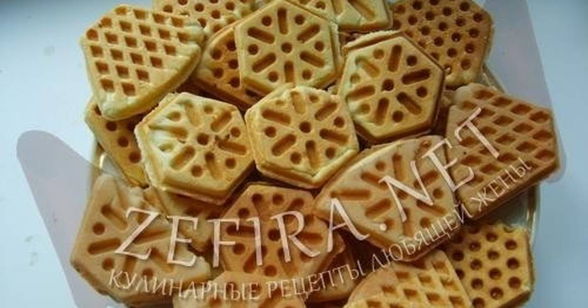 Печенье на специальной сковородке