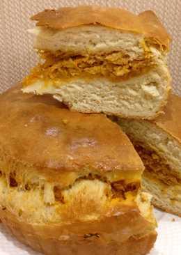 Пирог с Капустой. Быстрое Дрожжевое Тесто