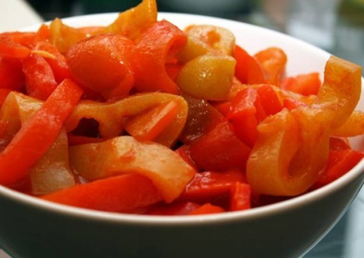 Лечо с настаиванием овощей «Вероника»