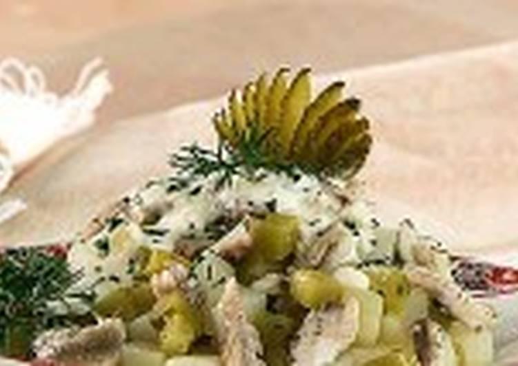 Салат из карасей