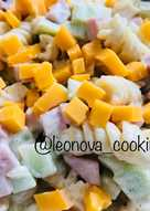 Салат из макарон #кукпаднаследие