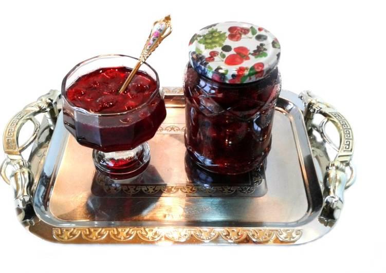 Сырое варенье из вишни#чемпионатмира#франция основное фото рецепта