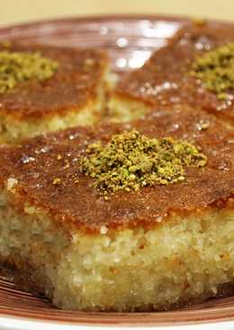 Ревани – нежный турецкий десерт
