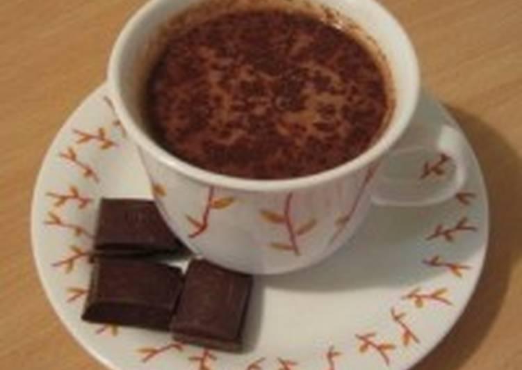 Домашний горячий шоколад «Кремовый»