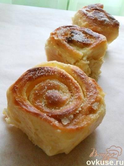 Нежные булочки печеные в молоке