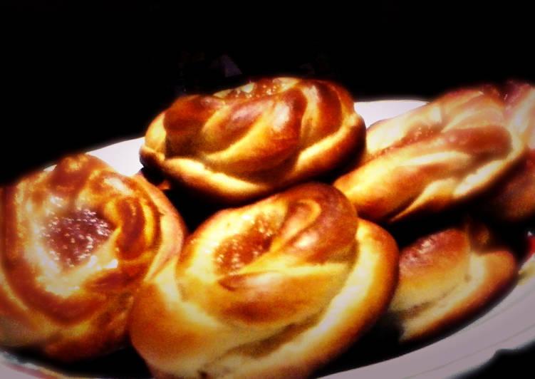 Вкусные, пышные булочки