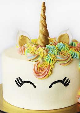 Торт Единорог на Детский Праздник / День Рождения - Рецепты nk cooking