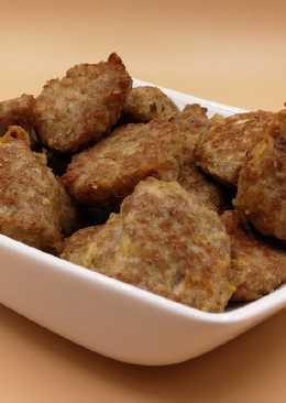 Индюшиную котлеты с тёртым картофелем, кетогеная диета