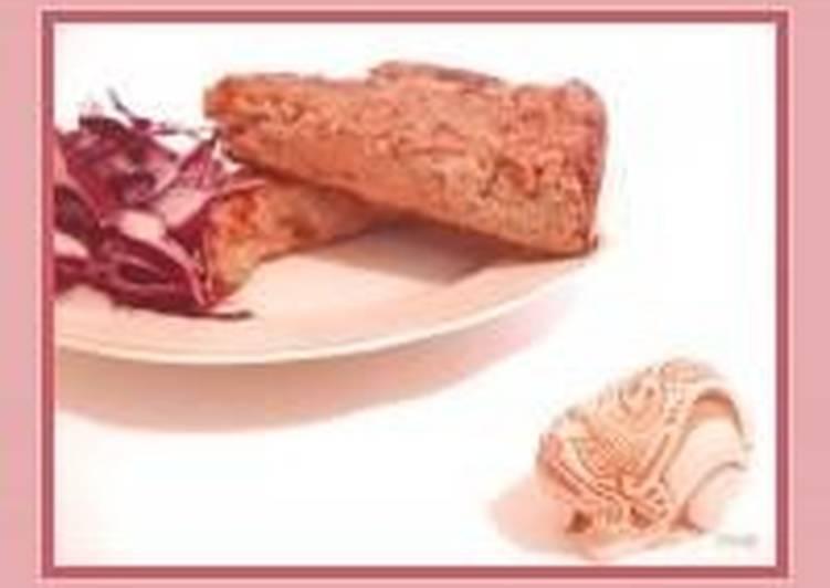 Пудинг хлебный с печенью