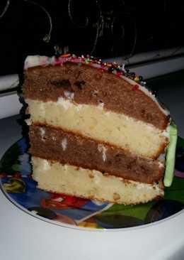"Тортик ""Зебра"""