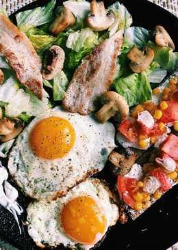Яичница (завтрак)