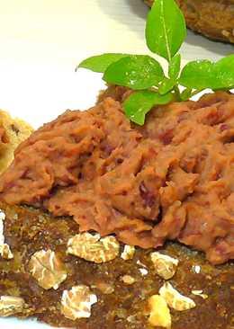 Паста из красной фасоли для бутербродов