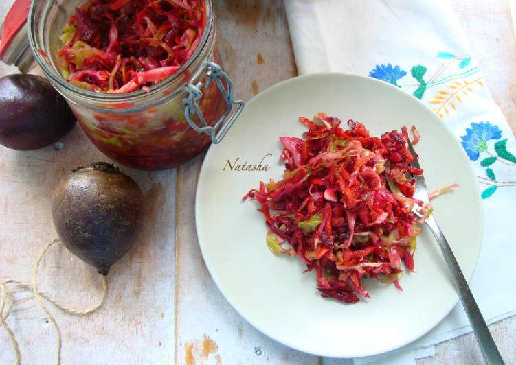 """Салат из молодых овощей """"Витаминка"""""""