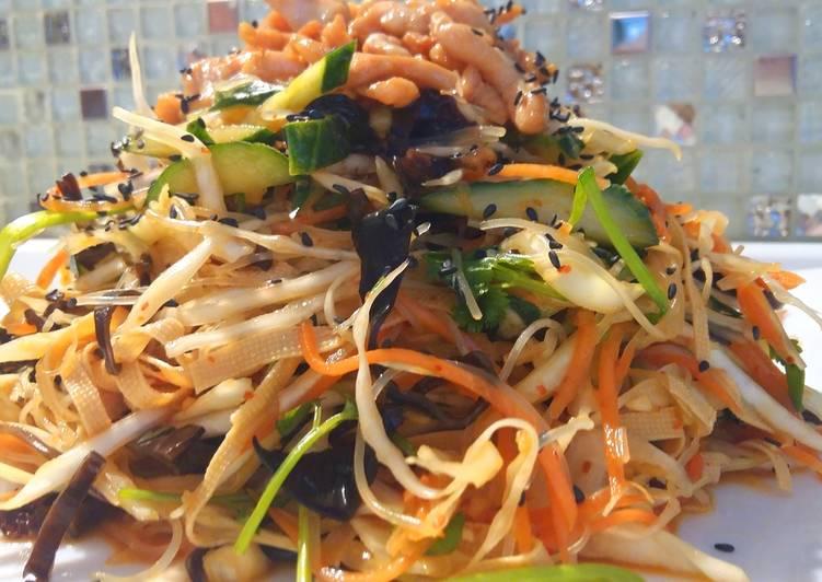 Китайский салат Харбин