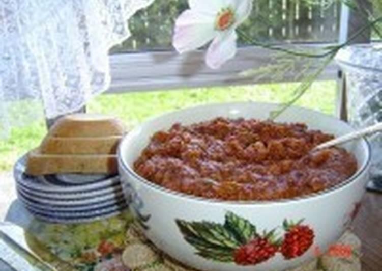 Баклажаново-томатная приправа