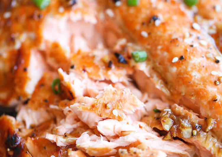 Рыба в медово-соевом соусе