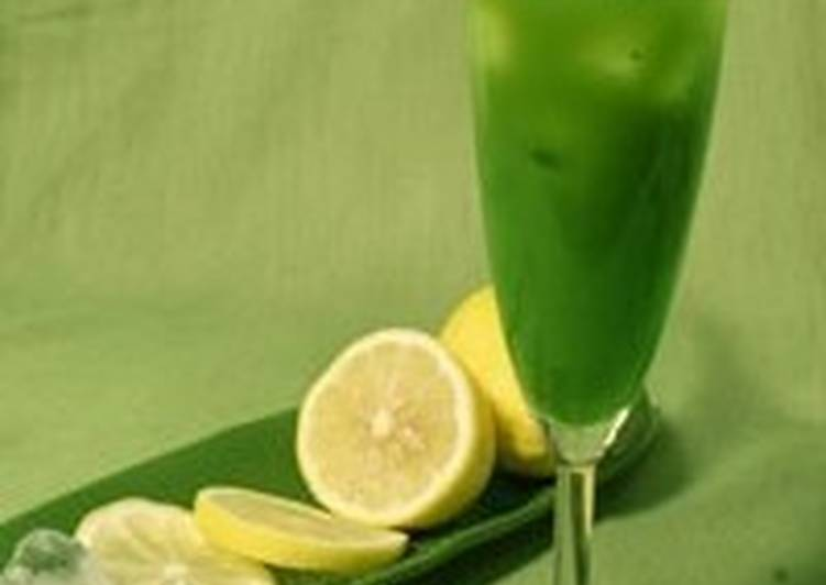 Коктейль летний «Зеленый»