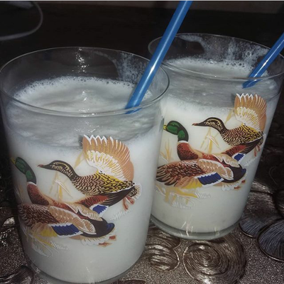Домашний молочный коктейль