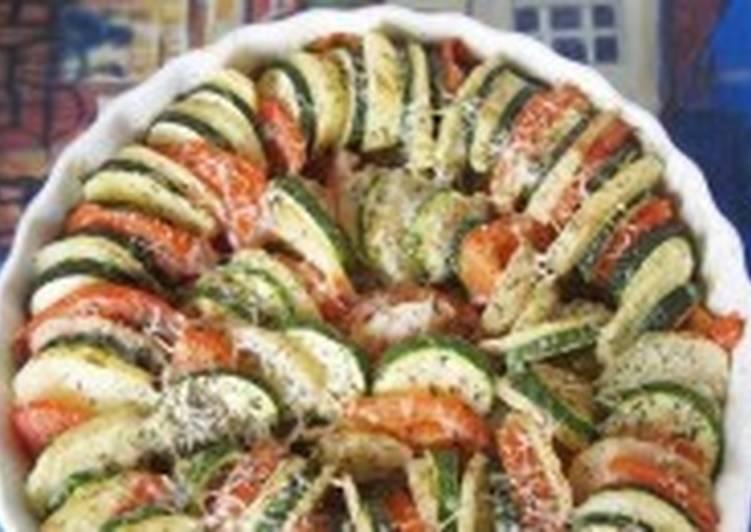 Запеченное овощное ассорти