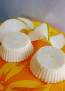 Творожное суфле с бананом на полдник для малышей #кулинарныймарафон