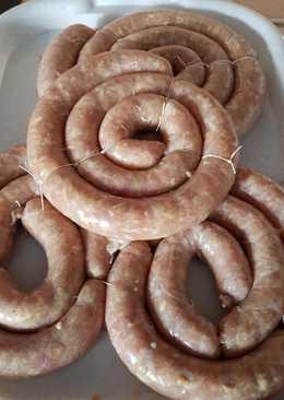 Куриная колбаса #кулинарныймарафон