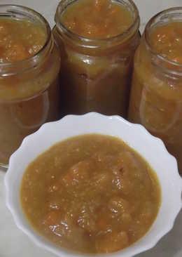 Варенье из цитрусов с тыквой