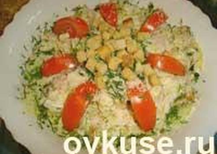 Капуста в салат цезарь