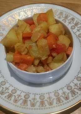 Овощное рагу с кабачком