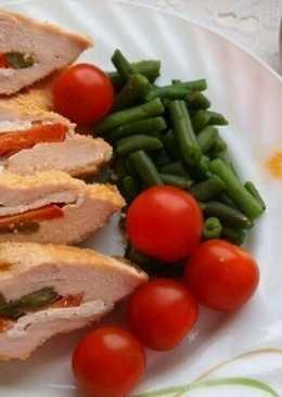 Куриное филе с витаминной начинкой