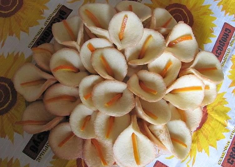 рецепт печенья каллы с апельсиновыми корками