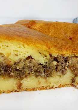 Вкуснейший и нежный рыбный пирог который тает во рту!