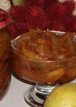 Варенье из груш ванильно-цитрусовое