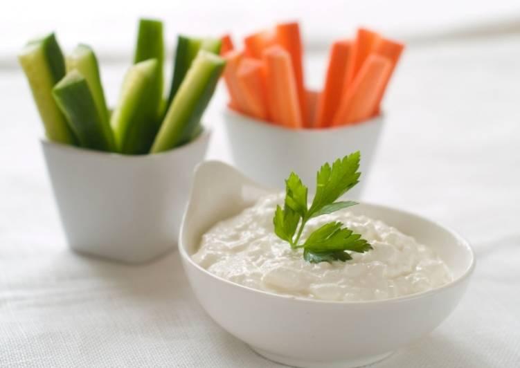 Соус-дип для свежих овощей