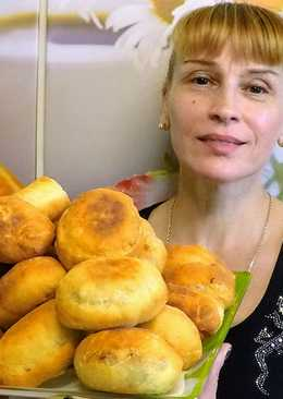 Жареные пирожки с мясом - фирменный рецепт домашнего теста