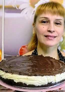 Шоколадный торт баунти простой быстрый рецепт