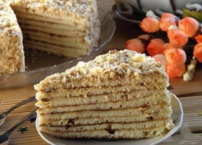 """Торт на сковороде """"Фантазия"""""""