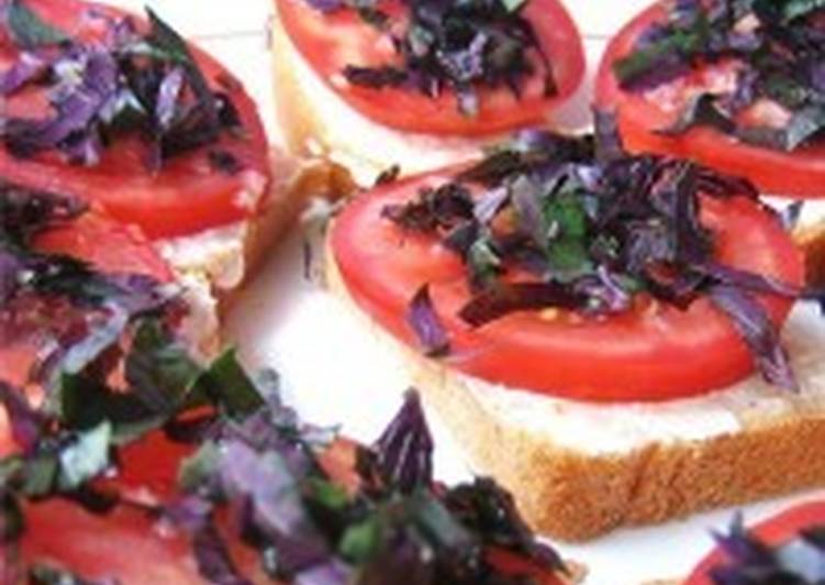 бутерброды рецепты фото летние с