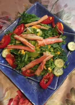 Крабовый салат!